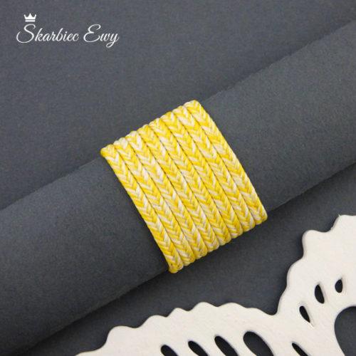 polski sznurek sutasz 3mm soutache ombre