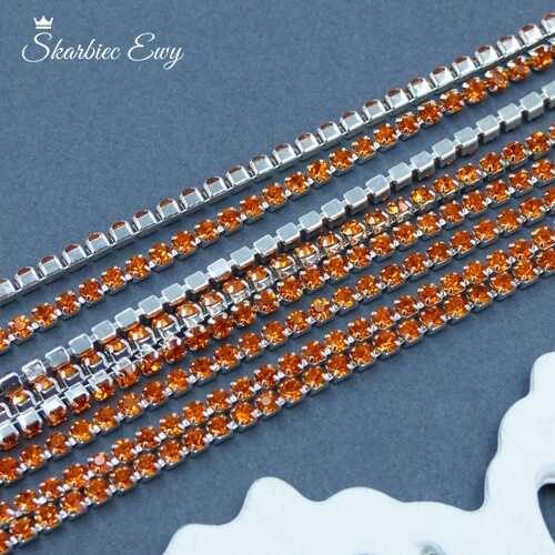 taśma cyrkoniowa srebrna 2 mm ORANGE
