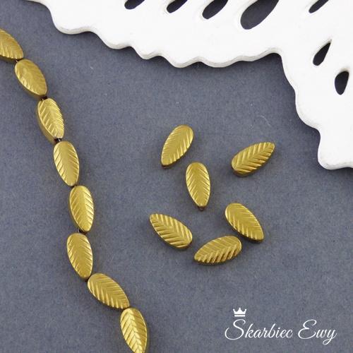 hematyt listki złote