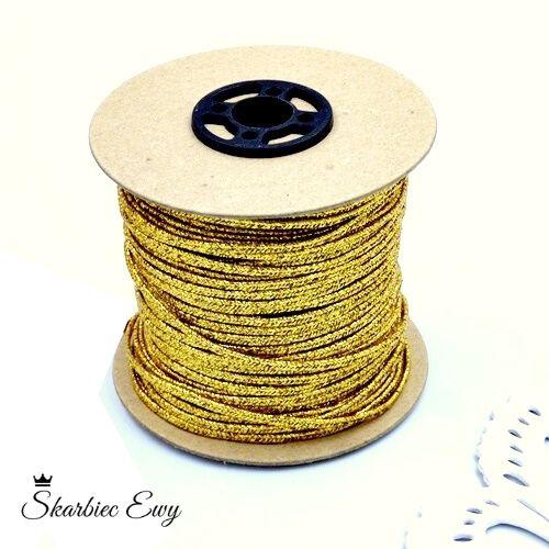 sznurek sutasz metalizowany szpula rolka