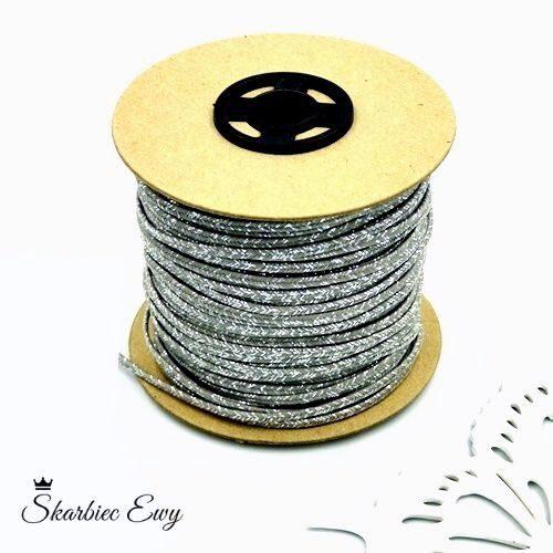 sznurek sutasz szpula metalizowany ombre
