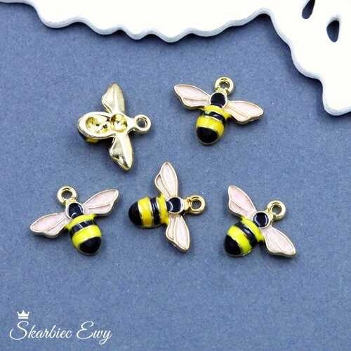 zawieszka emaliowana pszczoła