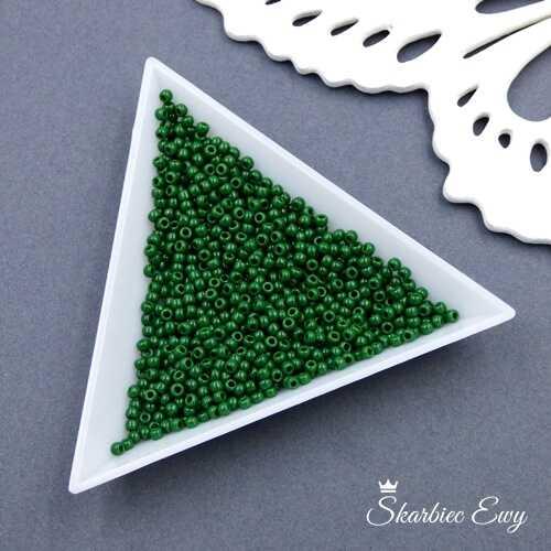 TOHO round 11/0 Opaque Pine Green (10g) TR-11-47H