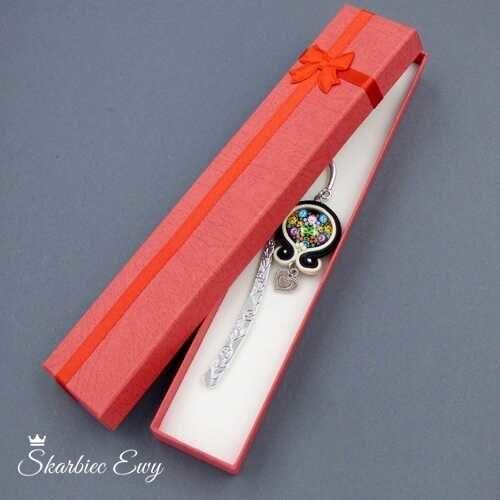 pudełko ozdobne jubilerskie na bransoletkę
