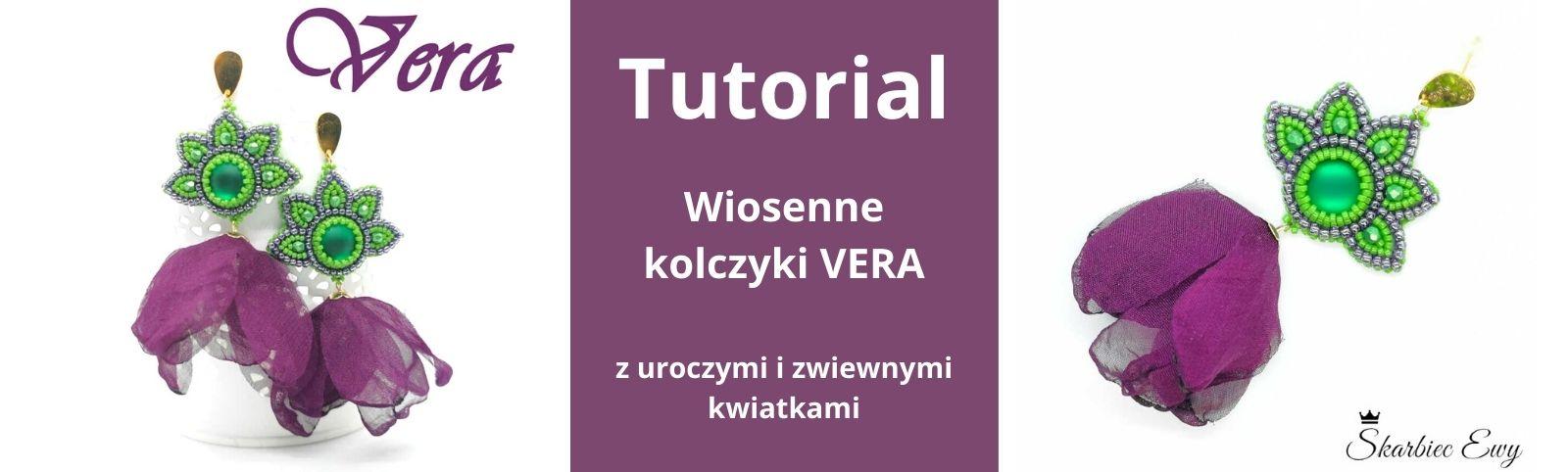 tutorial kolczyki VERA haft koralikowy