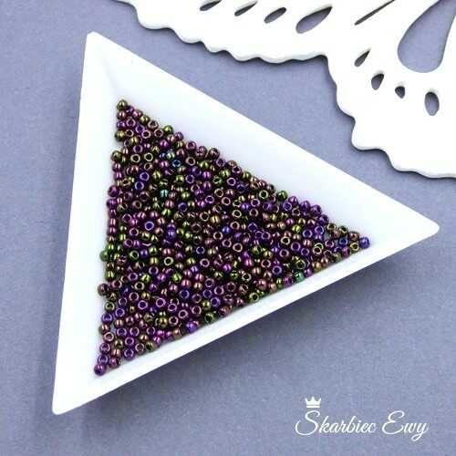 TOHO round 11/0 Metallic Iris Purple (10g) TR-11-85