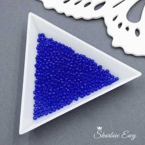 TOHO round 11/0 Transparent Cobalt (10g) TR-11-8