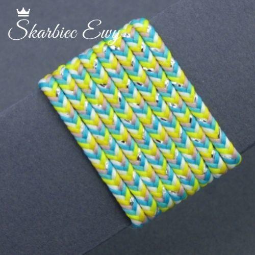 polski sznurek sutasz 3mm limitowany kolorowy