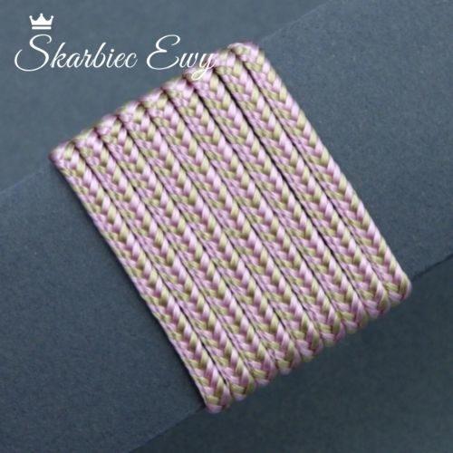 polski sznurek sutasz wiskoza 3mm limitowany kolorowy