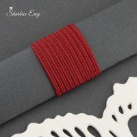sznurek sutasz turecki 2,5 mm czerwony