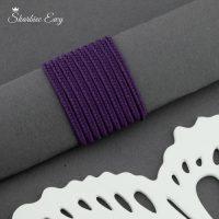 sznurek sutasz turecki 2,5 mm fioletowy