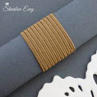 sznurek sutasz turecki 2,5 mm orzechowy