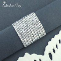 sznurek sutasz turecki 2,5 mm metalizowany srebrny